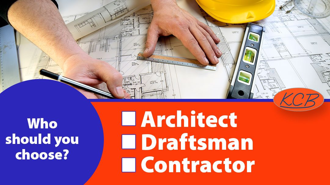Architect, draftsman, contractor – Who should you choose for your new home's construction plans?